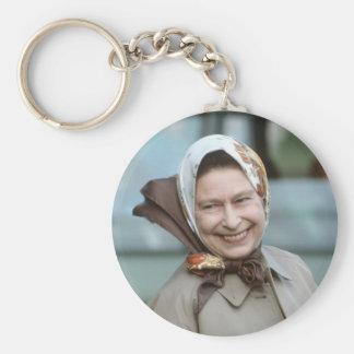 HM Queen Elizabeth II-Windsor 1983 Keychain