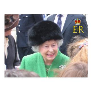 HM The Queen's Diamond Jubilee Postcard