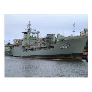 HMAS Tobruk Postcard