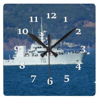 HMCS Brandon Square Wall Clock