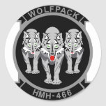HMH-466 Wolfpack Stickers