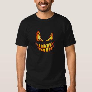 Hmmm - scary Pumpkin Face Tshirts