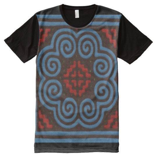 Hmong Elephant Protection Symbol Graphic Tee