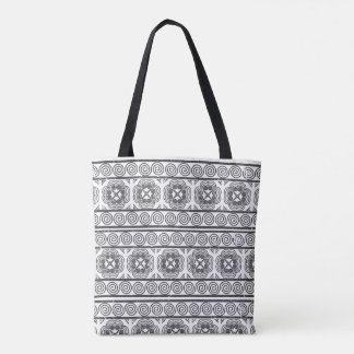 Hmong Motif in Gray Tote