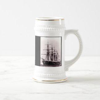 HMS Agincourt 1865 18 Oz Beer Stein