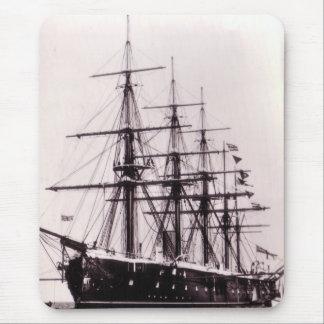 HMS Agincourt 1865 Mouse Pad