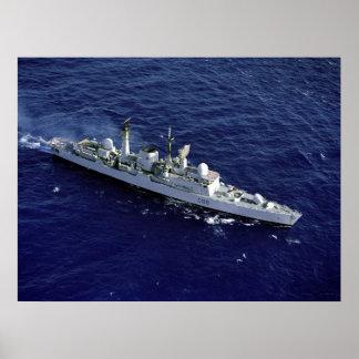 HMS Glasgow (D-88) Poster