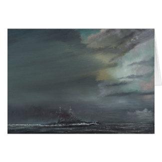 HMS Hood 1941 2014 Card