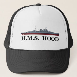 HMS Hood Trucker Hat