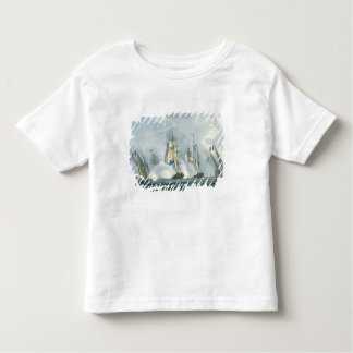 HMS Sirius, Captain Rowse engaging a French Squadr Toddler T-shirt