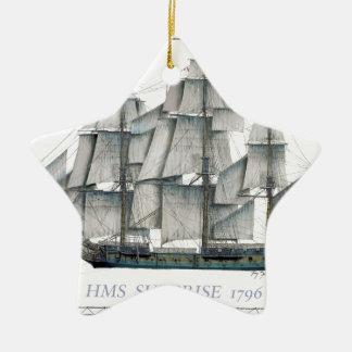 HMS Surprise 1796 Ceramic Ornament