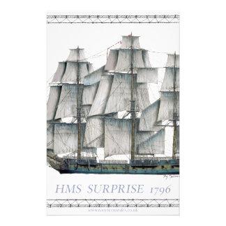 HMS Surprise 1796 Stationery