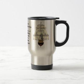 HMS Victory British Warship Travel Mug