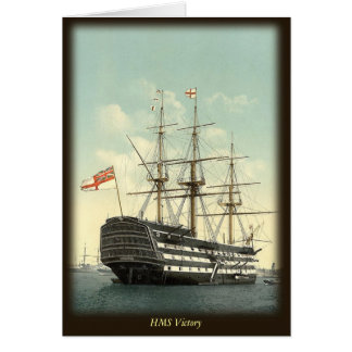 HMS Victory  Note Card