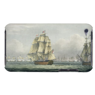 HMS Victory sailing for the French line flanked by Barely There iPod Case