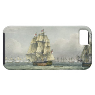 HMS Victory sailing for the French line flanked by iPhone 5 Cover