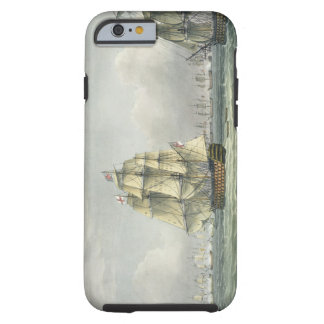HMS Victory sailing for the French line flanked by Tough iPhone 6 Case