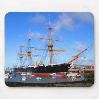HMS Warrior Mouse Pad
