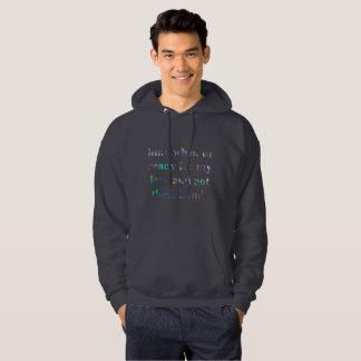 hmu mens hoodie hooded hoody sweatshirt