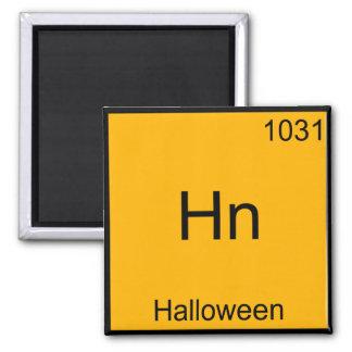 Hn - Halloween Funny Element Meme Chemistry Tee Square Magnet