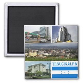 HN - Honduras - Tegugigalpa Mosaic - Collage Magnet