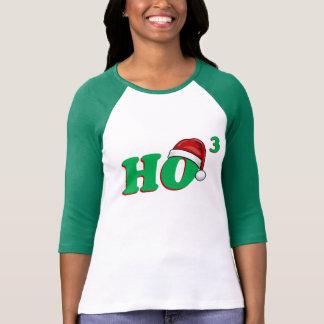 Ho 3 (Cubed) Funny Christmas Hoodie