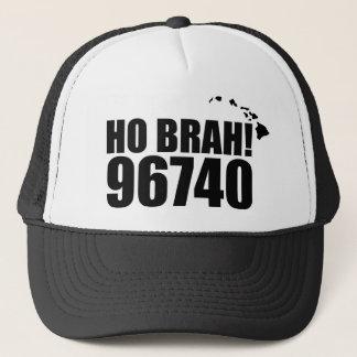 Ho Brah!..,Hawaii Zip Code Hats 96740 Kailua Kona