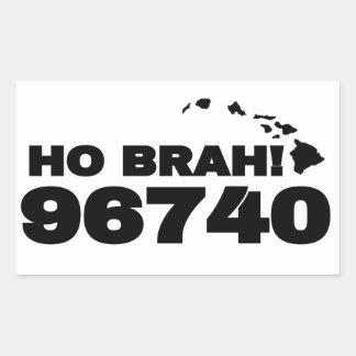 Ho Brah!.., Kona Town Sticker