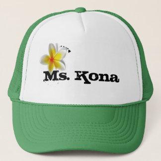 Ho brah!...,Ms. Kona's Trucker Hat. Trucker Hat