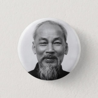 Ho Chi Minh 1 Inch Round Button