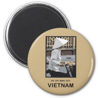 Ho Chi Minh City Vietnam 2 Inch Round Magnet
