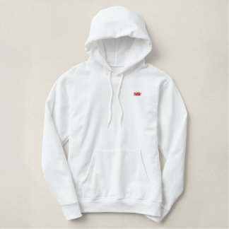 Ho Embroidered Hooded Sweatshirt