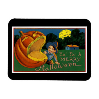 Ho! for  a Merry Halloween Magnet