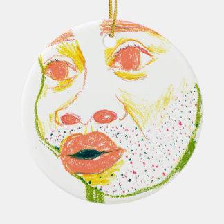 ho ゙ hi ゙ - round ceramic ornament