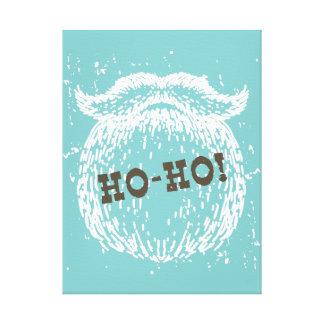 Ho-Ho Christmas Holiday Santa Noel Canvas Print