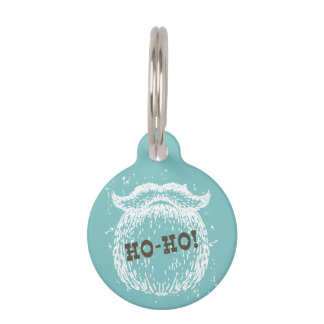Ho-Ho Christmas Holiday Santa Noel Pet Tag