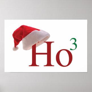 Ho Ho Ho affiche de Noël