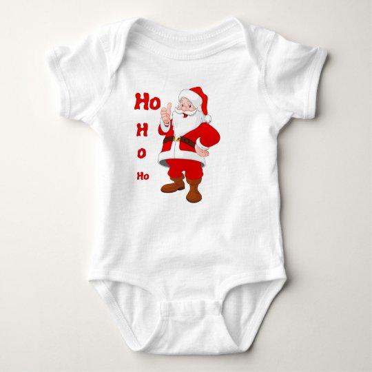 Ho, Ho, Ho Baby Bodysuit