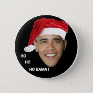 Ho Ho Ho Bama 2 Inch Round Button
