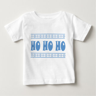 HO HO HO Blue Baby T-Shirt