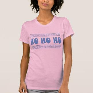 HO HO HO Blue T Shirts