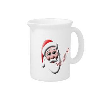 Ho ! Ho ! Ho ! Broc de Noël du père noël Pichet À Eau