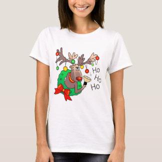 HO HO HO by SHARON SHARPE T-Shirt
