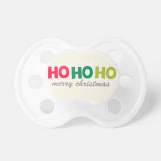 Ho Ho Ho Christmas | Custom Baby Pacifier