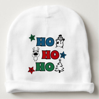 Ho-Ho-Ho Christmas design Baby Beanie