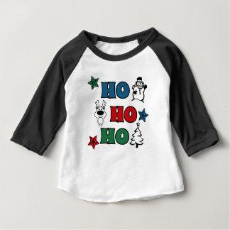 Ho-Ho-Ho Christmas design Baby T-Shirt