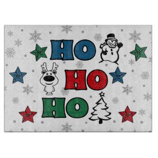 Ho-Ho-Ho Christmas design Cutting Board