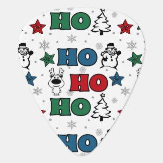 Ho-Ho-Ho Christmas design Guitar Pick