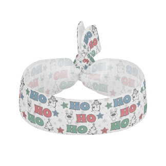 Ho-Ho-Ho Christmas design Hair Tie