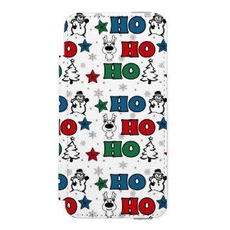 Ho-Ho-Ho Christmas design Incipio Watson™ iPhone 5 Wallet Case
